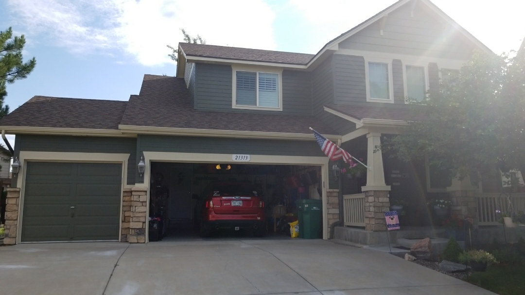 Aurora, CO - Beautiful residential paint job for an Angie's List customer. Aurora, CO