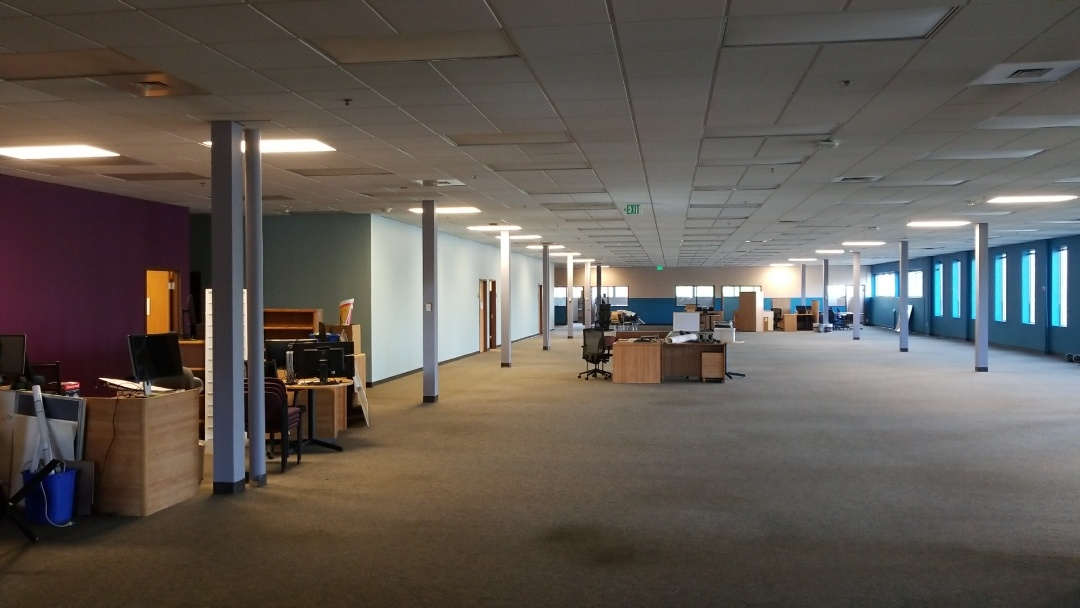 Lakewood, CO - Governor's office of Information Technology interior paint project. Denver, CO