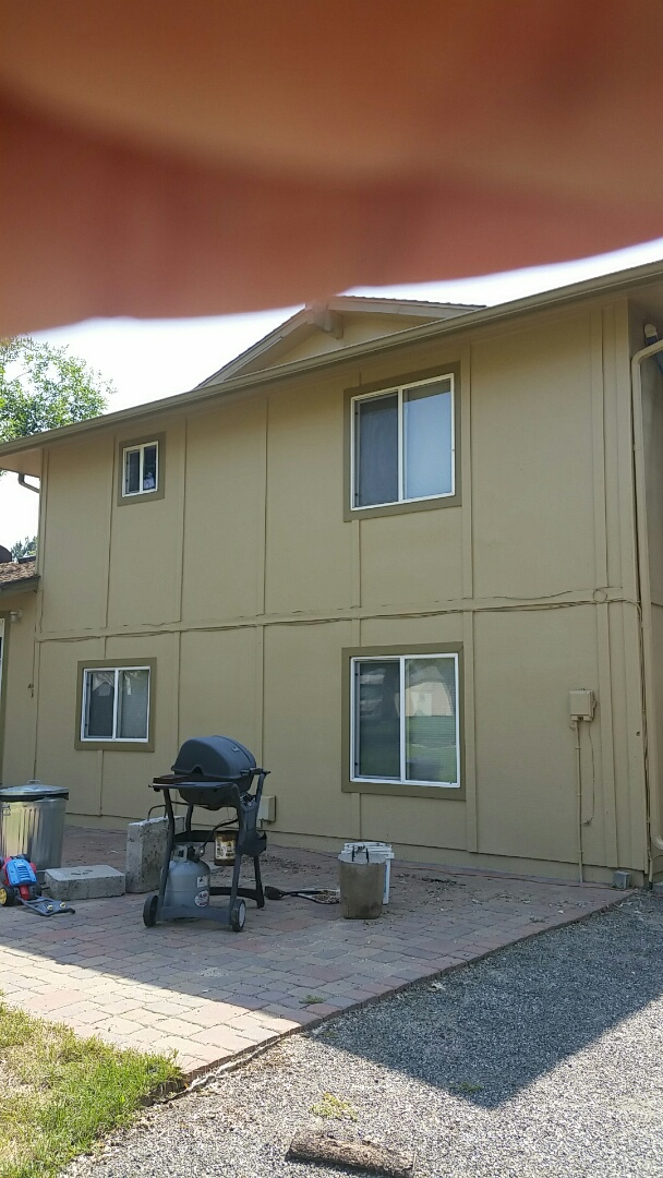Longmont, CO - Residential house painters in Longmont, CO www.coloradopainting.com. Camelback and artifact for colors looks great on this Longmont, Colorado residential house.