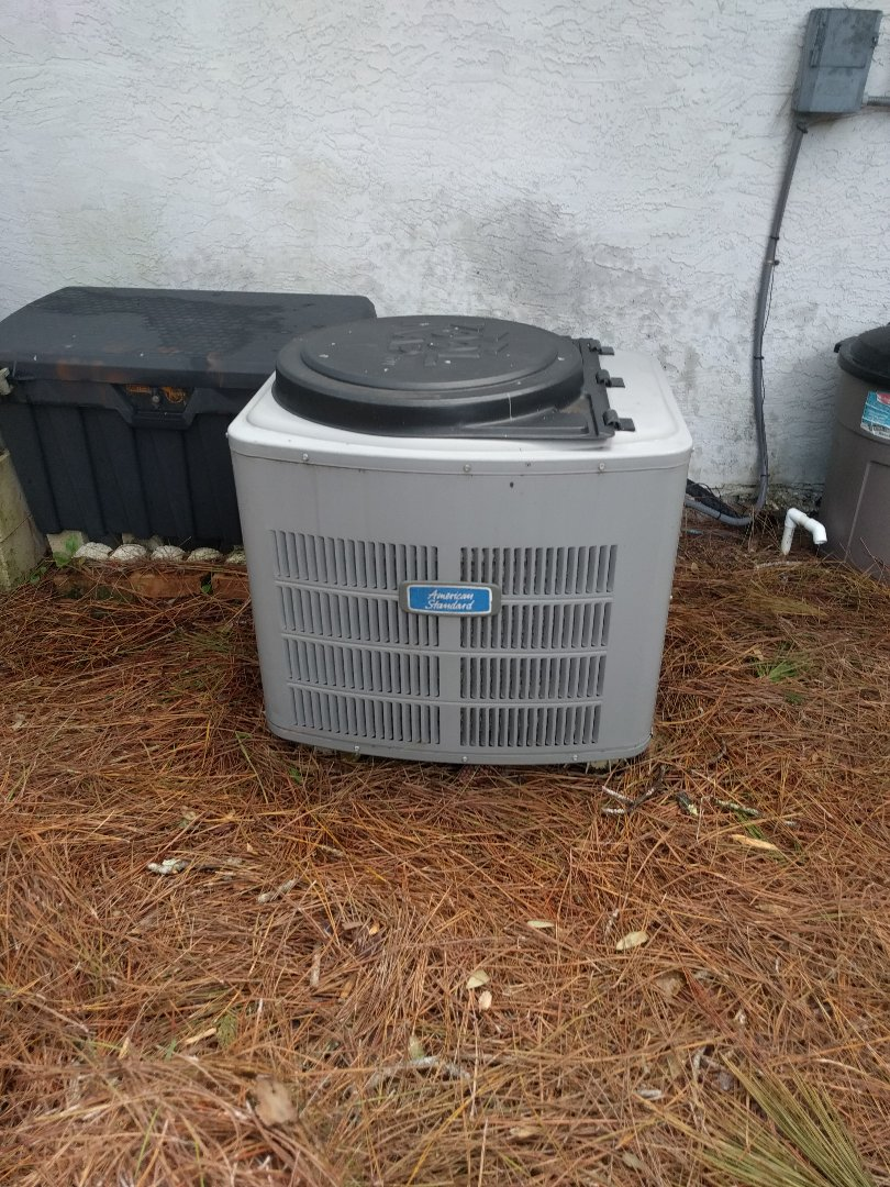 Cocoa, FL - Performed maintenance on two systems for existing customer.  One Trane and one  American Standard.