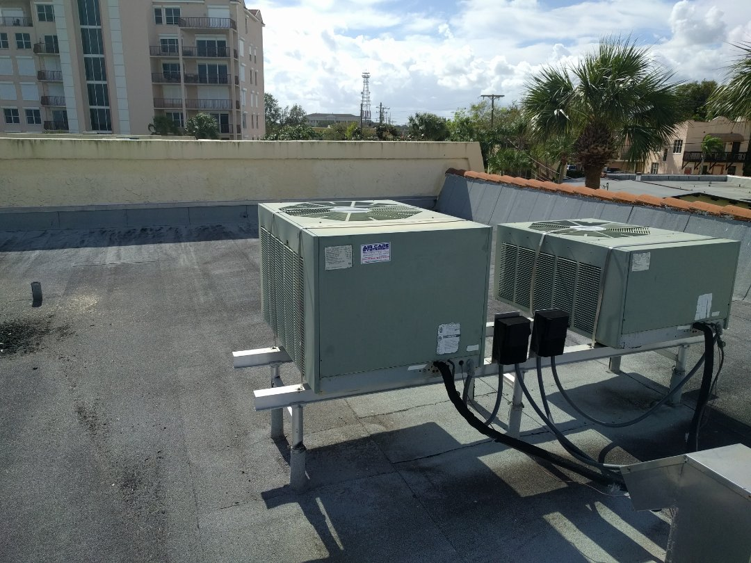 Cocoa, FL - Installing new thermostat for new customer on a Rheem system.