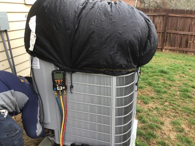 Pickerington Carrier heat pump tune up