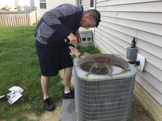 Grove City, OH - Carrier fan replacement in Grove City