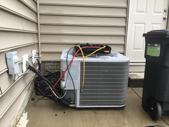 Groveport, OH - Ac low on puron