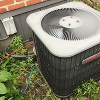 Columbus, OH - Completed a Spring Tune-up and Safety Checkout on a 2008 Lennox AC System. Recommended to replace the blower capacitor 5.