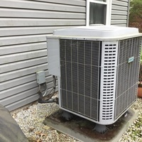 Reynoldsburg, OH - Performed a Spring Tune-Up and Safety checkout on a 2014 Comfortmaker Heat Pump as part of a service maintenance agreement.