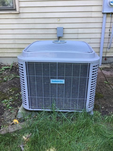 Pickerington, OH - Performed a seasonal Tune-Up and Safety Checkout on a 2016 Comfortmaker AC System.