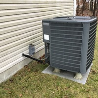 Pataskala, OH - Performed a Tune-Up and Safety Checkout on a 2009 Goodman AC. Added an AC Efficiency Kit (SPP6 + Contactor + Dual Run Cap).