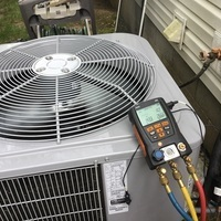 Reynoldsburg, OH - Completed a Pre-Season Tune-Up on a Carrier 16 SEER 2 Ton Air Conditioner. Everything checked out and system is ready for summer.