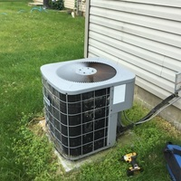 Columbus, OH - Performed a Tune-Up and Safety Checkout on a ICP Air Conditioner. Estimate provided to replace with a Carrier 80% 90,000 BTU Gas Furnace and Carrier 13 SEER 3 Ton Air Conditioner.