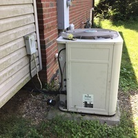 Estimate provided to replace a 2001 Bryant Air Conditioner with a Carrier 16 SEER 5 Ton Air Conditioner. Included a one year service maintenance agreement.
