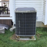 "Carroll, OH - Estimate provided to replace a Rheem Gas Furnace and Tempstar AC with a Carrier ""Infinity Series"" 98% Variable-Speed Modulating 120,000 BTU Gas Furnace and Carrier ""Infinity Series"" 19 SEER Variable-Speed 4 Ton Air Conditioner."