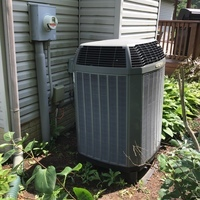 Estimate provided to replace a Trane Electric Furnace and Heat Pump with a Carrier Multi-Speed X-13 4 Ton Electric Furnace / Fan and Carrier 14 SEER 4 Ton Heat Pump. Included a Honeywell T6 PRO Wifi Lyric thermostat.