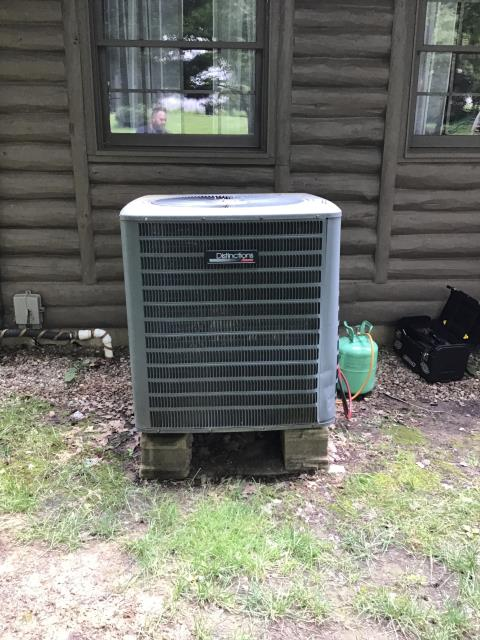Replaced Defrost Board On Goodman AC System To Help Keep AC Running Efficiently For The Summer Season