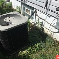 Replaced dual capacitor 30+5 on Ducane ac unit