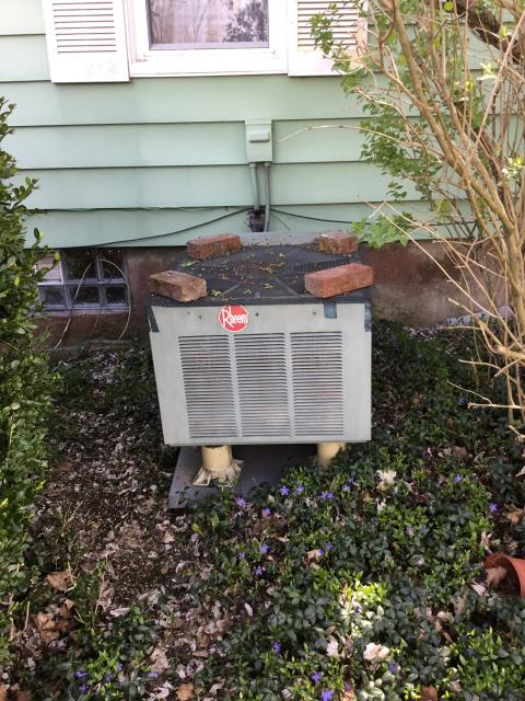 Carroll, OH - Replace Condenser Fan Motor (Single Speed) with Capacitor & Fan Blades. Replaced condenser fan motor and blades, but unit still shut off by tripping high limit switch.