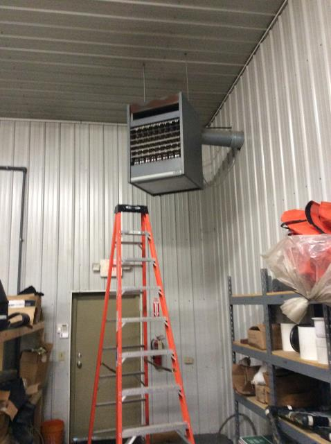 Added Freon To Carrier AC System To Keep AC Running Efficiently For The Summer Season