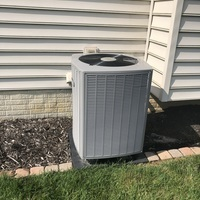 Replaced in warranty blower motor on Armstrong ac unit