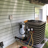 Hilliard, OH - Diagnostics service performed on Goodman A/C System. Repair options given to the customer.