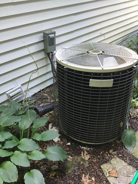 Provided customer with estimate on new Carrier 13 SEER 3 Ton Air Conditioner to replace old CONCORD A/C unit.