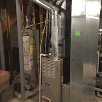 Grove City, OH - Replaced fuse on new carrier gas furnace