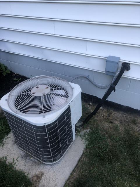 Blacklick, OH - Provided Customer Estimate New Carrier 16 Seer AC System To Replace Existing Carrier AC System