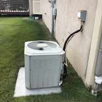 Gahanna, OH - Free in-house estimate provided to replace a Trane Air Conditioner with a Carrier 16 SEER A/C System. Rebate given for AEP customer.