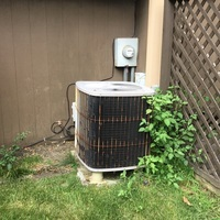 Gave home owner free estimate to replace old Trane equipment with 2019 Carrier furnace and ac