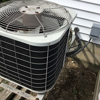 Added 3 pounds of freon to old Bryant ac unit