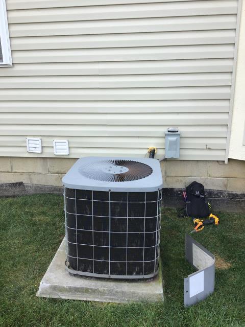 Performed Real Estate Furnace and A/C  HVAC Inspection on COMFORTMAKER unit.