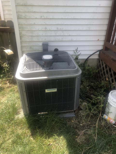 Provided Quote For New Carrier 13 SEER 2.5 Ton Air Conditioner To Replace Existing Tempstar AC System