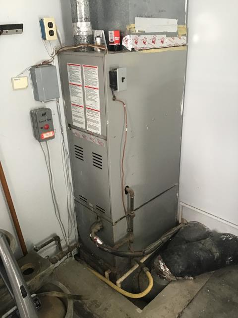 Furnace Tune up & Safety check out performed on a Goodman AC Unit