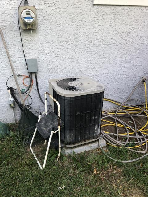 Groveport, OH - Provided Estimate New Carrier 13 SEER 3 Ton Air Conditioner To Replace Existing Goodman AC System