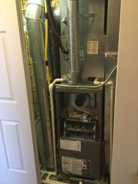 Blacklick, OH - Furnace tune - up and safety check performed on a Lennox system. Confirmed that the system is working within manufacturer specifications.
