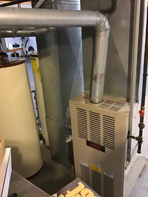 Provided Estimate New Carrier Gas Furnace 96% Variable Speed Two-Stage 100,000 BTU To Replace Existing Lennox Gas Furnace