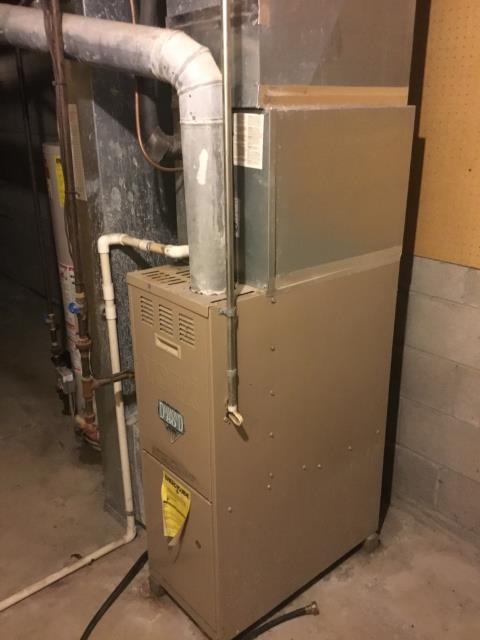 Groveport, OH - Installing New Carrier 13 SEER 2 Ton Air Conditioner & New Carrier 80% 70,000 BTU Gas Furnace To Replace Existing York Gas Furnace & AC
