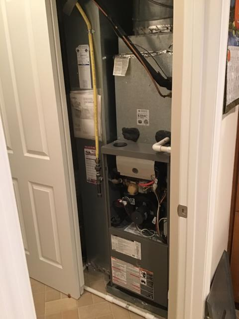 New Albany, OH - Furnace tune - up and safety check performed on a Carrier system. Confirmed that the system is working within manufacturer specifications.