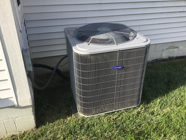 Gahanna, OH - Diagnostic Performed Installed Offset Coil Adapter On Carrier AC System TO Keep AC  Running Efficiently For The Summer Season