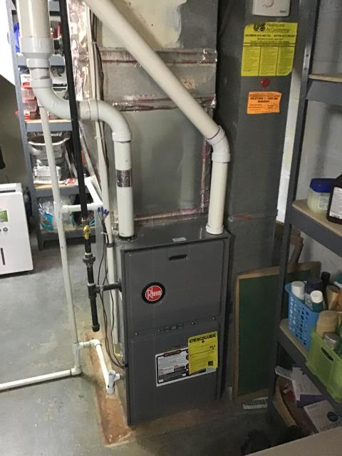 Blacklick, OH - Furnace tune - up and safety check performed on system. Confirmed that the system is working within manufacturer specifications.