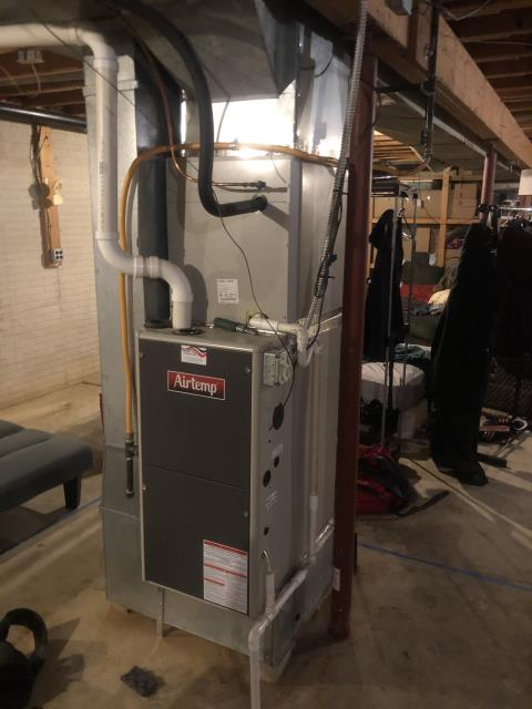 Diagnostic Performed Replaced Ignitor On Air Temp Gas Furnace To Keep Furnace Running Efficiently For The Winter Season