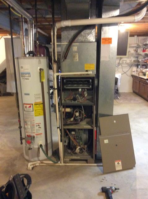 Diagnostic Performed Replacing Gas Valve  & Circuit Board On Goodman Furnace To Keep Furnace Running Efficiently For The Winter Season