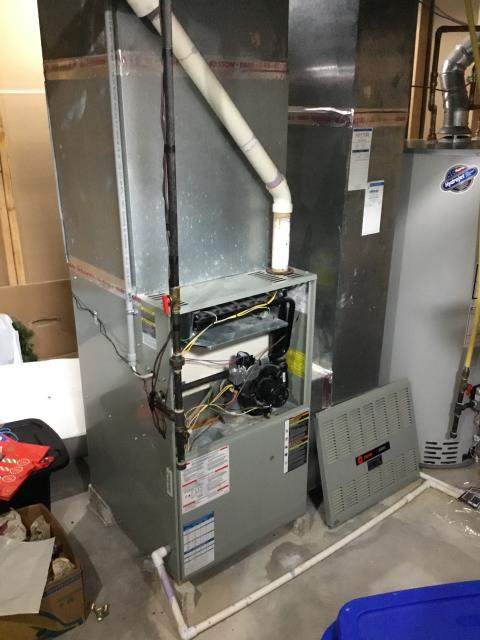 Furnace tune - up and safety check performed on system. Confirmed that the system is working within manufacturer specifications.