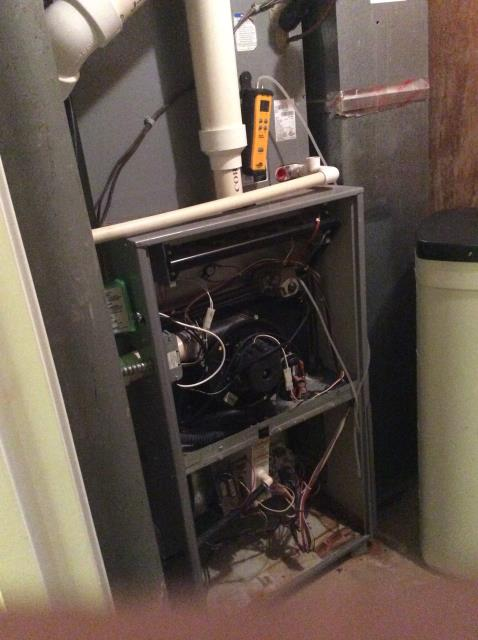 Diagnostic Service Call on 2006 Furnace.  Tech thinks problem is with secondary heat exchanger, gave estimate to replace system.