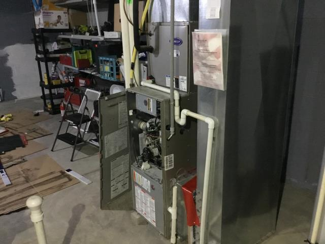 Furnace Tune-up and Safety Checkout performed on a Carrier furnace unit. System is now functioning within manufacturers specifications.