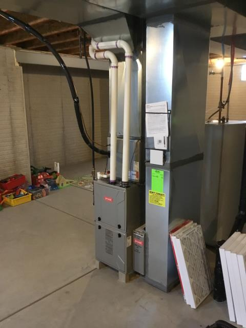 Furnace Tune-up and Safety Checkout performed on furnace unit. System is now functioning within manufacturers specifications.