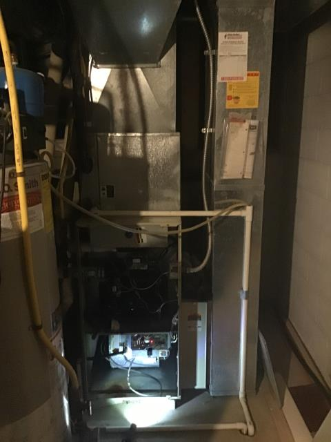 Furnace Tune-up and Safety Checkout performed on a Bryant furnace unit. System is now functioning within manufacturers specifications.