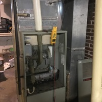 Lancaster, OH - Tech replaced ignition  board on Trane Furnace.