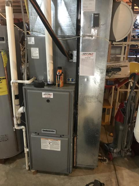 Diagnostic Performed Secured Thermostat On Carrier Gas Furnace To Keep Furnace Running Efficiently For The Winter Season