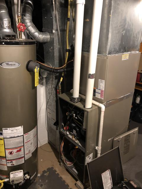 Groveport, OH - Diagnostic Performed Replacing Inducer Motor On Carrier Gas Furnace To Keep Furnace Running Efficiently For The Winter Season