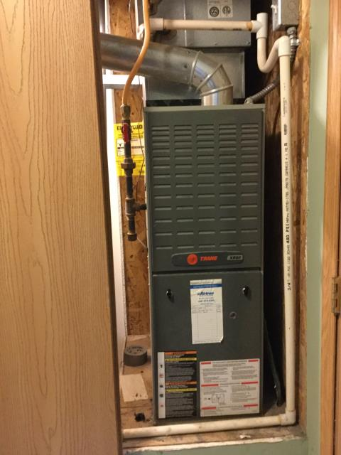 Diagnostic Performed Replaced Ignitor On Trane Gas Furnace To Keep Furnace Running Efficiently For The Winter Season